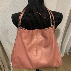 Coach Maddison Phoebe Rose Gold Shoulder Bag